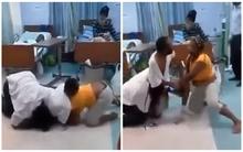 """Vợ và nhân tình """"đấu vật"""" trong bệnh viện khi đến chăm sóc anh chồng trăng hoa"""