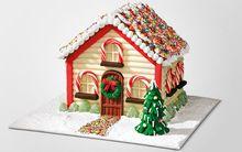 Làm nhà bánh gừng xinh xắn đón Giáng sinh thật vui!