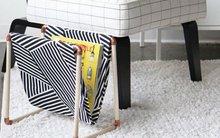 Tự chế giỏ đựng tạp chí cho nhà thêm gọn gàng