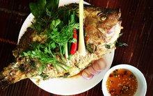 Món ngon cuối tuần: Cá nướng kiểu Lào