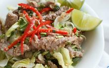 Salad bò kiểu Thái chua ngọt ăn thử là mê!