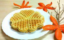 """Làm bánh Waffle giòn ngon thơm phức ăn sáng """"kiểu Tây"""" nhé!"""