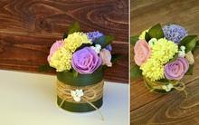 Làm hoa giả xinh lung linh cho góc nhà bừng sáng!
