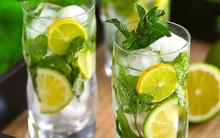 Soda chanh bạc hà mát lạnh giải nhiệt ngày nắng hanh hao