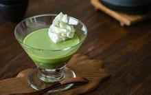 Pudding trà xanh ăn thật ngon mà còn đẹp da!