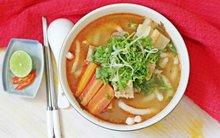 Bánh canh cá Tomyum chua cay siêu ngon miệng