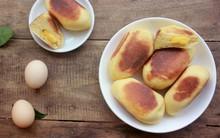Làm bánh mỳ trứng bằng chảo cực ngon