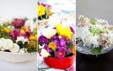 Bỏ túi 3 cách cắm hoa bằng bát tròn vừa đẹp vừa dễ