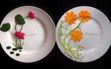 Những cách trang trí đĩa ăn siêu đẹp hút