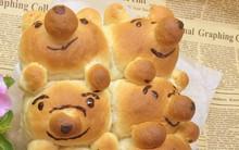 Làm bánh mì hình gấu xinh ơi là xinh cho con yêu