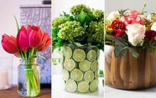 3 cách cắm hoa nhanh gọn trang trí nhà đẹp tinh tế
