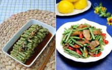 2 món ngon từ đậu đũa đơn giản cực dễ làm