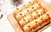 Bánh mì Kitty mềm thơm đẹp mắt cho bữa sáng mĩ mãn