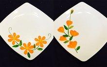 7 mẫu hoa trang trí viền đĩa cơ bản cho mẹ vụng trổ tài