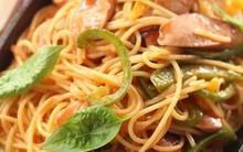 Bữa tối cuối tuần siêu tốc với món mỳ Ý trứng chiên ngon lành