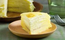 Mùa sầu riêng, tranh thủ làm ngay bánh crepe sầu riêng đãi cả nhà bạn nhé!