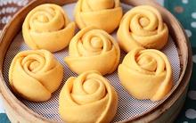 Học cách làm bánh bao hoa hồng thơm mềm hấp dẫn