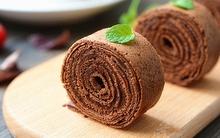 Không cần lò nướng cũng làm được bánh cuộn chocolate ngon đẹp mời cả nhà
