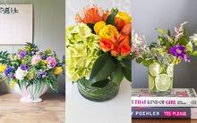 3 cách cắm hoa đơn giản trang trí nhà đẹp tinh tế