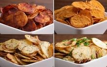 4 kiểu làm snack khoai tây ngon tuyệt mà các mẹ nên biết