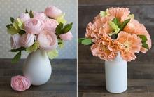 2 cách làm hoa giấy trang trí nhà đẹp tinh tế mùa đông này
