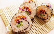 Cơm cuộn chà bông - biến tấu hương vị Việt cho món ngon Hàn Quốc