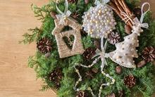 4 cách làm đồ trang trí cây thông Noel đơn giản mà thật xinh