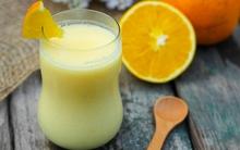 Dễ dàng làm sữa chua uống vị cam đẹp da và tốt cho tiêu hoá