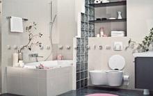 Sắp xếp nội thất phòng tắm theo phong cách Nhật Bản