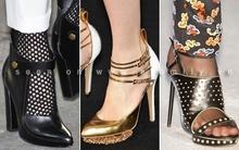 Những mẫu giầy ấn tượng nhất trên sàn runway mùa thời trang 2012