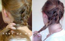 9 bước để tự tết tóc đuôi sam kiểu Hà Lan