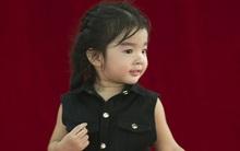 Con gái Xuân Lan điệu đà khi lần đầu học theo mẹ làm người mẫu