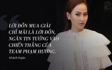 """Cô gái đẹp nhất đội Phạm Hương nói gì khi bị chỉ trích thắng nhờ Hà Hồ """"quá khéo"""""""