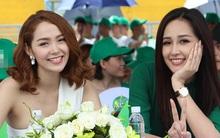 Minh Hằng xinh không kém Hoa hậu Mai Phương Thúy