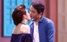 Hoài Lâm thẹn thùng vì lần đầu hôn mỹ nữ