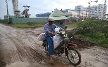 Khó tin bệnh viện Nhi hiện đại có bãi đáp trực thăng sắp hoàn thành nhưng lối vào như đường...làng