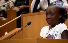 Bài phát biểu của bé gái da màu 9 tuổi gây chấn động trên toàn nước Mỹ