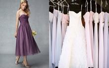 Ngây ngất với loạt thiết kế váy phù dâu đẹp tuyệt cho mùa cưới 2014/2015