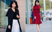 Gợi ý 4 cách mặc nhẹ nhàng với chân váy mùa đông