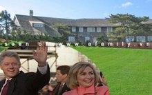 Ngôi biệt thự mới 25 triệu USD của gia đình Clinton