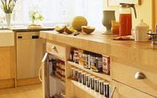 Tủ chứa đồ tiết kiệm không gian cho bếp và nhà tắm
