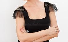 Bờ vai dịu dàng với áo tái chế cực chất