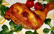 Cơm tối thật nhanh với gà nướng thơm lừng