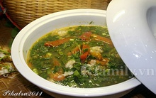 Món ngon cuối tuần: Canh chua cá khoai