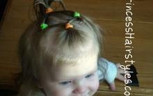 Kiểu tóc nhí nhảnh cho bé yêu