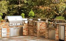Thiết kế nhà bếp ngoài trời: Cho nhà thông thoáng hơn