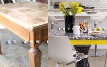 4 ý tưởng tái sử dụng cực hay cho chiếc bàn gỗ cũ