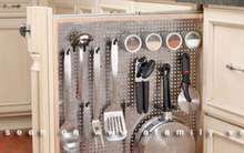 4 cách tận dụng mặt sau cánh tủ bếp