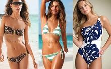 Những kiểu bikini thu hút phái mạnh