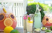3 loại cocktail đơn giản từ chanh cho mùa hè mát lạnh
